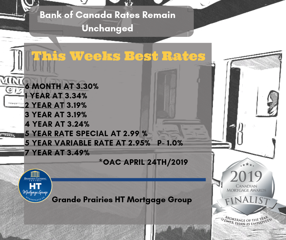 When you want the best rate trust your Grande Prairie Mortgage Broker to shop for you!