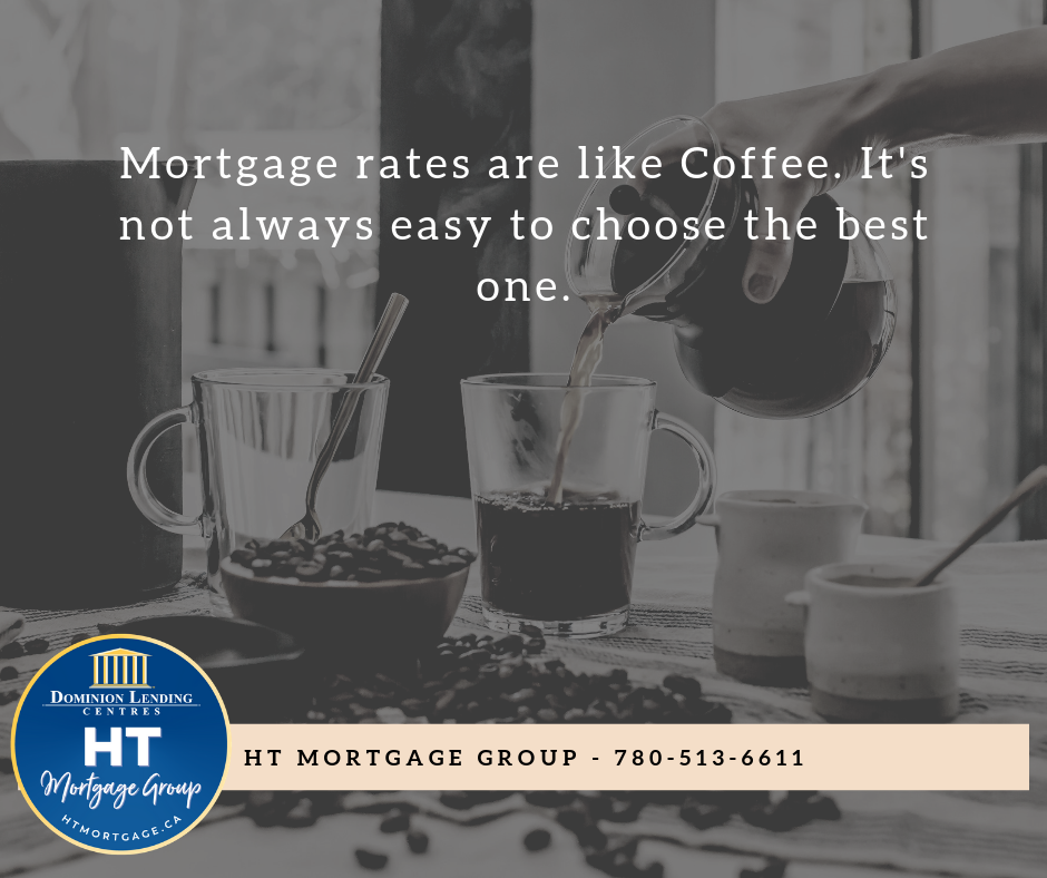 Your Grande Prairie Mortgage Brokers have different types of mortgages for you to choose from. Simple and complex blends available!