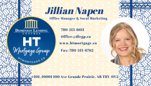 Jillian Napen - Social Media Manager at Dominion Grande Prairie